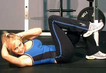 Photo of woman how to get abs fast