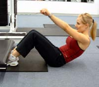 Photo of woman workout programs for abs